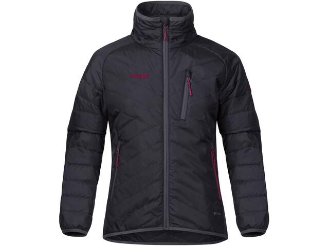 Bergans Girls Josten Lt Insulated Jacket Solid Charcoal/Sol Dark Grey/Dusty Cerise